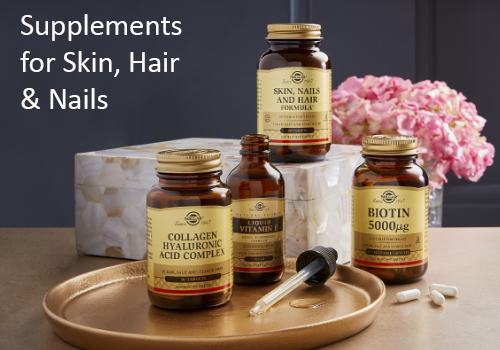 Supplements for Skin, Hair & Nails